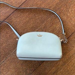 Sky blue Kate Spade purse
